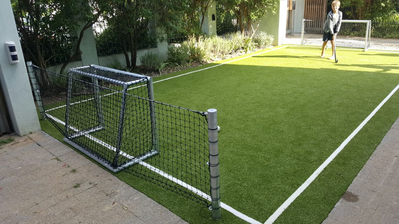 Playarea Mini Hockey Soccer Field At Home Synsport